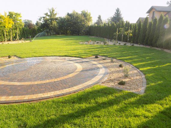 Ogród w Kętach